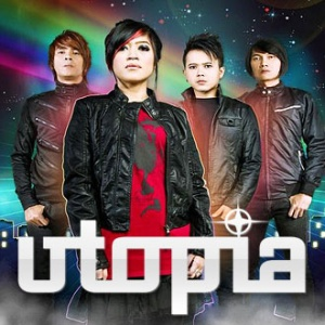lirik utopia lelah