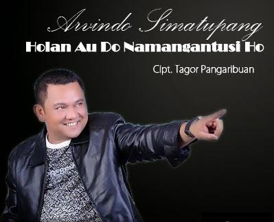 Lirik Lagu Holan Au Do Namangantusi Ho - Arvindo Simatupang