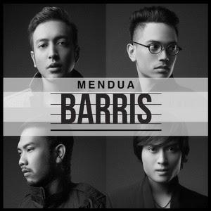 lirik Barris - Mendua
